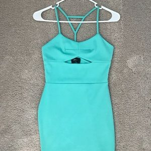 Bodycon strapping dress